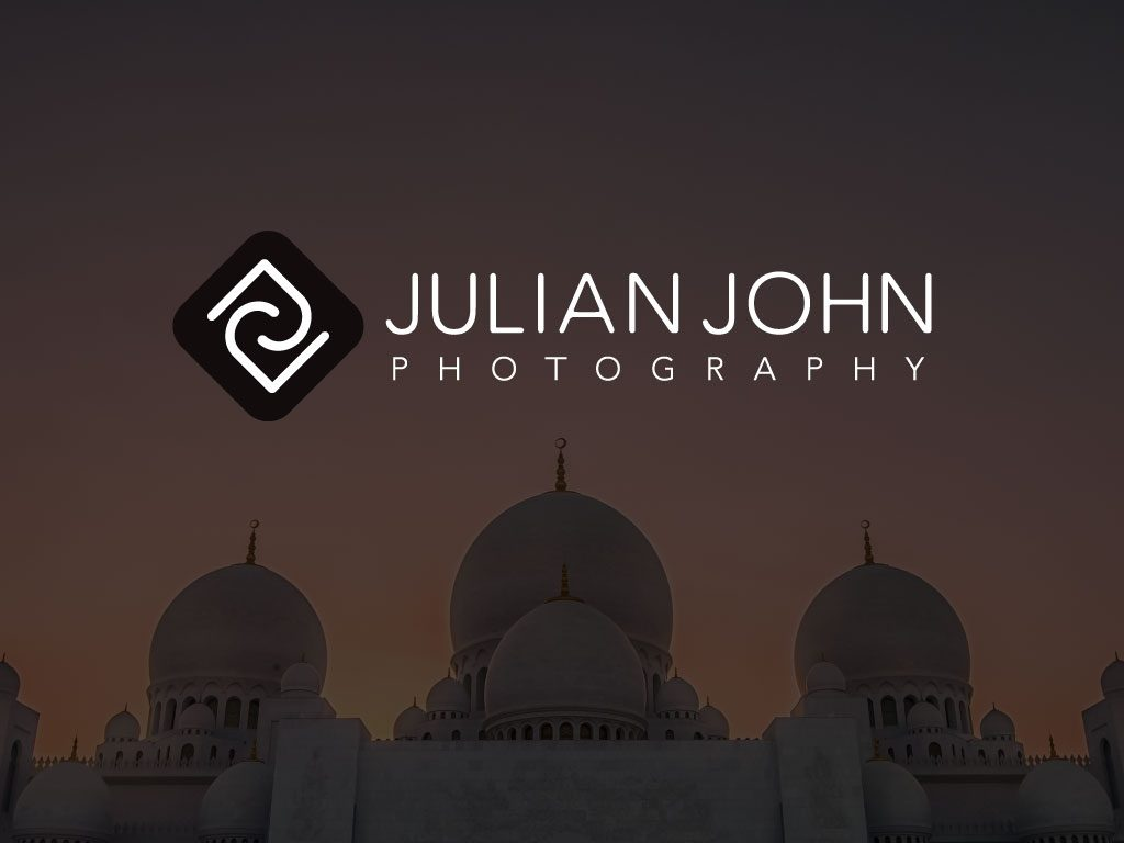 Graphic Design Portfolio - Julian John Photography - Logo Design